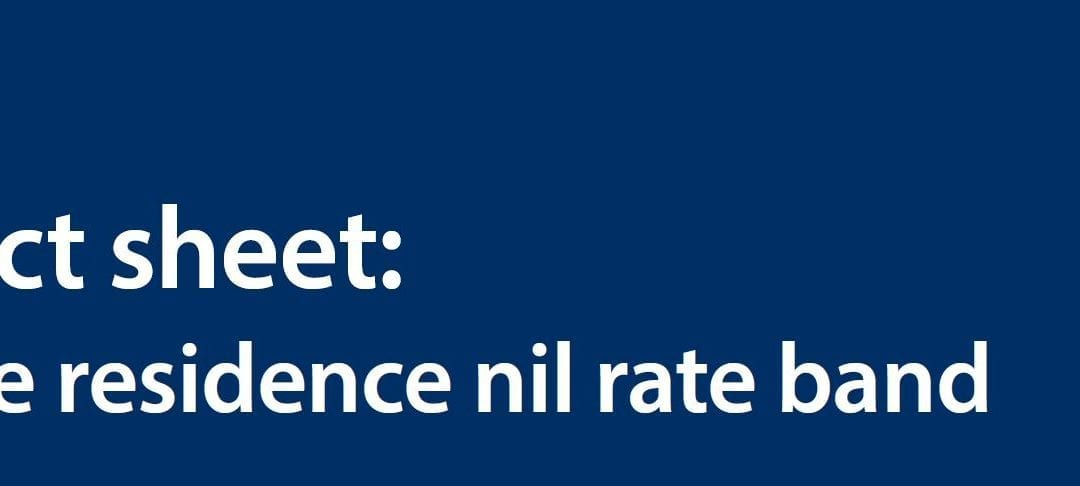 Fact sheet: the residence nil rate band
