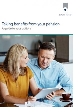 taking benefits from your pension - a guide to your options