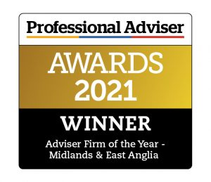 Lucas Fettes Financial Planning awarded Adviser Firm of the Year - Midlands & East Anglia